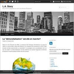 """La """"démondialisation"""" est-elle en marche? - blog histoire geographie lycée eaubonne"""