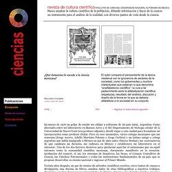 ¿Qué demonios le sucede a la ciencia mexicana? - Revista Ciencias