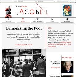 Demonizing the Poor