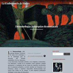 Demonología (Jerarquías demoníacas)