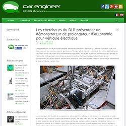 Les chercheurs du DLR présentent un démonstrateur de prolongateur d'autonomie pour véhicule électrique