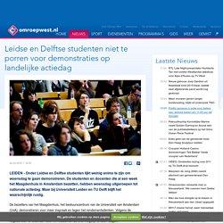 Leidse en Delftse studenten niet te porren voor demonstraties op landelijke actiedag