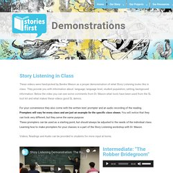 Demonstration Videos - The Stories First Foundation