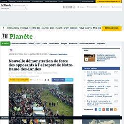 Nouvelle démonstration de force des opposants à l'aéroport de Notre-Dame-des-Landes