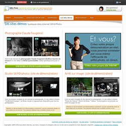 Demonstration de site » Silfid-Photo site internet et vente de photos pour photographe