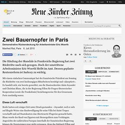 Zwei Bauernopfer in Paris (International