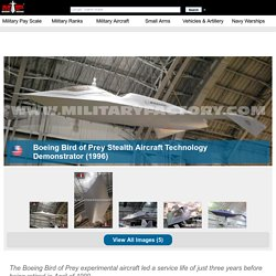 Boeing Bird of Prey - Stealth Aircraft Technology Demonstrator - History, Specs and Pictures - Military Aircraft, Helicopters and Drones