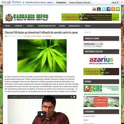 [Dossier] 68 études qui démontrent l'efficacité du cannabis contre le cancer