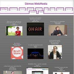 Démos WebMedia - Florilège