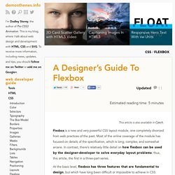 A Designer's Guide To Flexbox