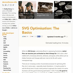 SVG Optimisation: The Basics