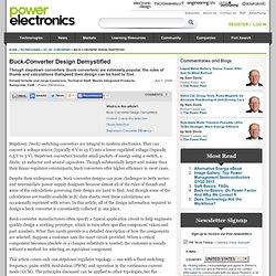 Buck-Converter Design Demystified Page of