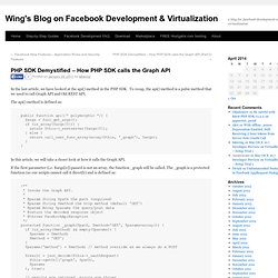 Wing's Blog on Facebook Development & Virtualization