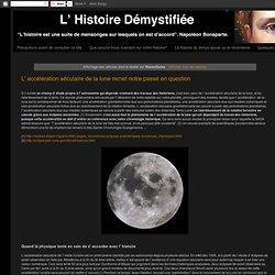 L' Histoire Démystifiée: Récentisme