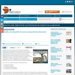 Tabouffe.com: démystifier les processus de production alimentaire