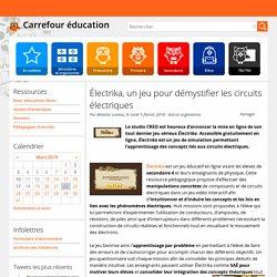 Électrika, un jeu pour démystifier les circuits électriques