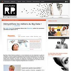 Démystifions les métiers du Big Data!