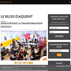Démystifions la transformation digitale !