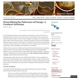 Demystifying the Pattern(s) of Change: A Common Archetype « beatrice benne