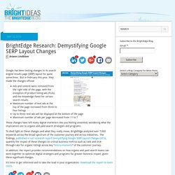Demystifying Google SERP Layout Changes and 4 Ads on Top