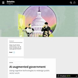 Demystifying artificial intelligence in government
