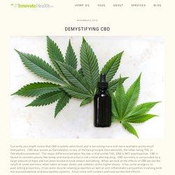 What is CBD — Medical Marijuana