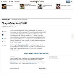 Demystifying the MOOC