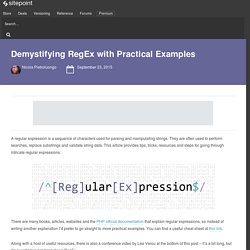 Demystifying RegEx with Practical Examples