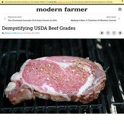 Demystifying USDA Beef Grades