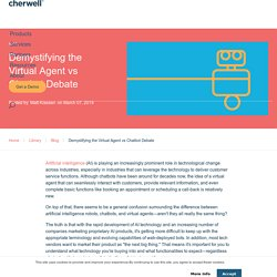 Demystifying the Virtual Agent vs Chatbot Debate