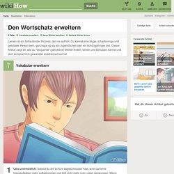 Den Wortschatz erweitern – wikiHow