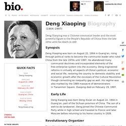 Deng Xiaoping - Biography - - Biography.com