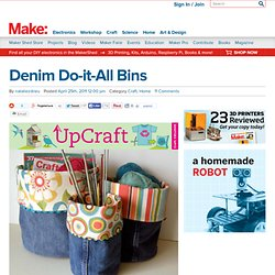 Denim Do-it-All Bins