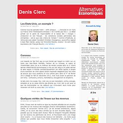 Le blog de Denis Clerc
