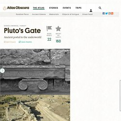 Pluto's Gate – Denizli Merkez, Turkey - Atlas Obscura