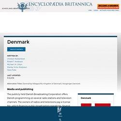 Denmark - Media and publishing