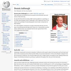 Dennis Ashbaugh - Wikipedia