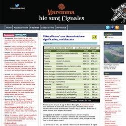 Il Morellino e' una denominazione significativa, ma bloccata « Poggio Argentiera: il Morellino di Scansano e la Maremma.