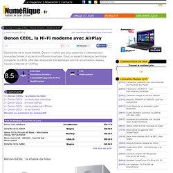 Denon CEOL, la Hi-Fi moderne avec AirPlay