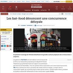 Sociétés : Les fast-food dénoncent une concurrence déloyale
