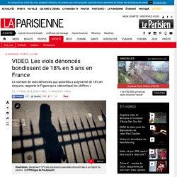 VIDEO. Les viols dénoncés bondissent de 18% en 5 ans en France