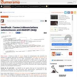 SeedFuck : l'arme à dénonciations calomnieuses anti-HADOPI - Num