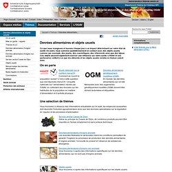 CONFEDERATION SUISSE 25/03/13 Étiquetage alimentaire: Comprendre l'étiquetage des denrées alimentaires en quelques clics