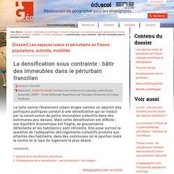 La densification sous contrainte : bâtir des immeubles dans le périurbain francilien