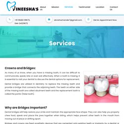 Dental Crowns & Bridges Cost in Chennai