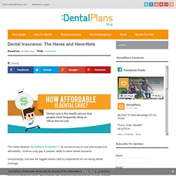 Dental Insurance - Should You Get It?