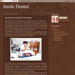Smile Dental: Rochester Family Dentistry