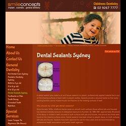 Dental Sealants treatments Sydney