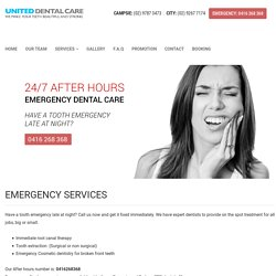 24 hour dental service, Emergency dental 24 hours, 24 hour Emergency Dental Service, Dental 24 hour service, 24 dental clinic, Sydney