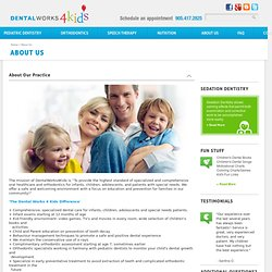 Kids Dentist in Toronto, Vaughan, Richmond Hill